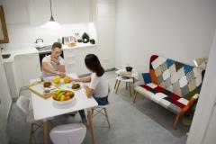 casa rural menjador i cuina