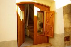 Can Girmas - porta d'entrada